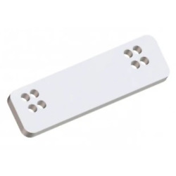Side Spacer For Boband039s Machine Jack Plate White