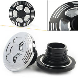 Fuel Gas Tank Cap Fit Harley Sportster Xl883 Xl1200 48 Dyna Touring Softail