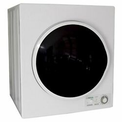 Pinnacle 18-850/w White With Silver Trim Compact Electric Dryer