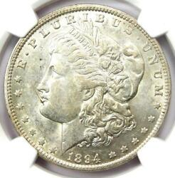 1894-o Morgan Silver Dollar 1 - Certified Ngc Au Details - Rare Date Coin
