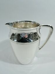 Water Pitcher - 20211 - Antique Art Deco - American Sterling Silver