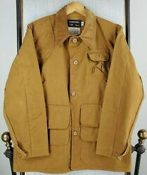 Vtg Redhead Bone Dry Size 42 Large Mens Canvas Hunting Jacket Game Pouch Coat