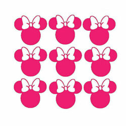 Minnie mouse Decals Vinyl Stickers for Home Wall Nursery Room Door Car Window
