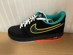 New Mens Nike Air Force 1 '07 Lv8 Peace And Unity Sneakers Dm9051 001 Size 10