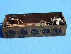 1940 1941 Wurlitzer 700 800 750 780 850 Cabinet Power Junction Box Assembly