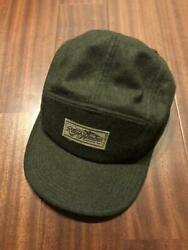 Polo Wool Cap Hat Olive Green Logo Menand039s From Japan Genuine New