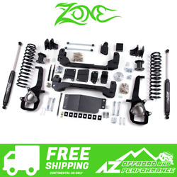 Zone Offroad 6 Suspension Lift Kit 5 Rear For 2013-2018 Dodge Ram 1500 4wd