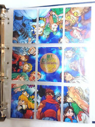 Carddass Masters All Capcom World '98 Complete Set With Dedicated Files Types