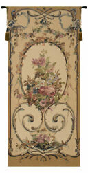 Jessica Vintage Belgian Tapestry Wall Art Hanging Decor New 41x19, 65x30 Inch