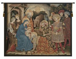 Adoration Palla Strozzi Italian Tapestry Wall Art Hanging For Home Decor New