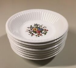 8 Vintage Wedgwood Edme Conway Fruit Sauce Bowl 5.25 Discontinued