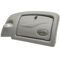 Lund 2003 Pv Pewter Vinyl Boat Glove Compartment Console Face Panel 1985732