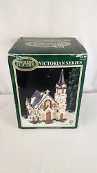 Dickens Collectables Victorian Series Lighted House Christmas Village Porcelain