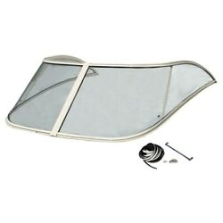 Scout Boat Windshield 64808 | 262 Abaco Clear Glass 70 Inch 2 Pc Kit