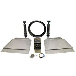 Bennett 18 X 12 Stainless Boat Trim Tab Kit W/ Actuators V1745300 No Control