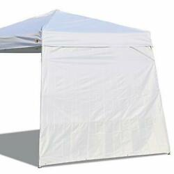 Canopy Side Wall for 10#x27;x 10#x27; Slant Leg Canopy Tent 1 Pack Sidewall Only White