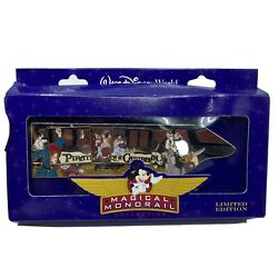 Disney Wdw Jumbo Monorail Pin Magical Collection Pirates Of The Caribbean Le 750
