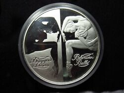 2007 Belarus 1000 Roubles Kilo Silver Proof Round 155 Of 300 Made