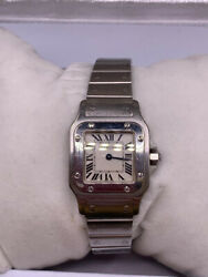 Santos Silver Womenand039s Watch - 1565 - 24mm