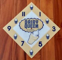 15 Dairy Queen Diamond Replacement Clock Face For Pam Clock Free Ship