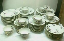 68 Piece Meito Norleans China Adele Dish Set Made In Japan