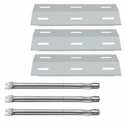 Stainless Steel Heat Plates And Tube Burners For Ducane Grill Replacement Parts