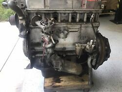 Triumph Tr3a Engine 4 Cylinder Ts64890e From A 1960 Tr3a