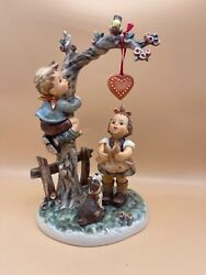Hummel Figurine 766 A Heart For Dich 10 5/8in 1 Choice. Top Condition