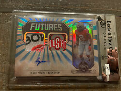 2020 Panini Legacy Chase Young Rc Dual Patch Auto Buckeyes 1/1 Bgs 9 Mint 10 Au