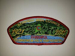 Boy Scout Katahdin Area Council 2011 Cheerful Fos Camp Roosevelt Red Csp/sap
