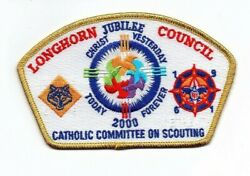 Boy Scout Longhorn Council 2000 Catholic Committee On Scouting Retreat Sa-32 Csp