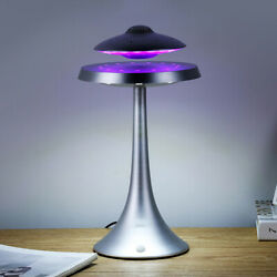 Ufo Magnetic Levitation Playback Floating Wired Bluetooth Speaker Led Table Lamp