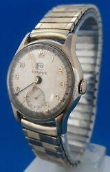 Mens Vintage Benrus Date Pointer Watch.free 3 Day Priority Shipping.