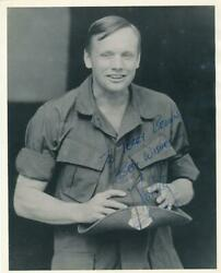 Neil Armstrong- Vintage Signed Photograph