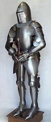 Medieval Knight Antique Collectibles Full Body Armor Suit Wearable Costume
