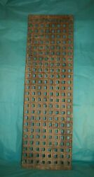 Cast Iron Grill Grille Church Greenhouse Floor Vent Heating Covers Ref 52a