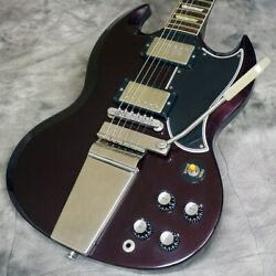 Secondhand Gibson Custom Shop Sg Standard Reissue V.o.s. With Maestro