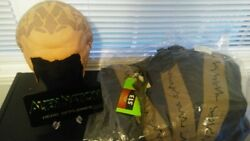Alien Nation Series Screen Used Prop Lot Head Appliance, Vest And Surgical Tool