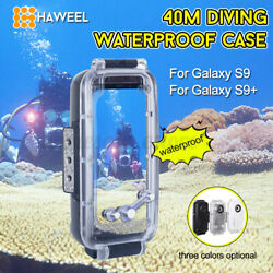 Haweel 40m Waterproof Shockproof Diving Case Cover For Galaxy S9 S9+ !! V @