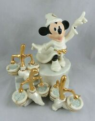 Disney Lenox - While The Sorcerer's Away - Fantasia Mickey Mouse Figurine