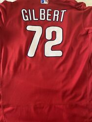 2019 Tyler Gilbert Phillies Spring Training Team Issued Mlb Authenticated Jersey