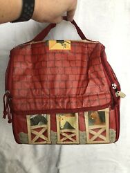 Breyer 2008 Barn Bag Unzips to Stable Yard Great Condition