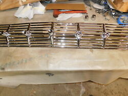 1959 Chevy Impala Chrome Grille With Bullets