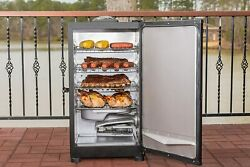 Masterbuilt Outdoor Barbecue 30 Digital Electric Bbq Meat Smoker Grill - Black