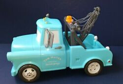 Disney Pixar Cars Tow Mater Lights And Sounds 11 Talking Wrecker Truck - Tested