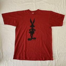 1993 Vintage Made In Usa Bugs Bunny T-shirt List No.mv1702