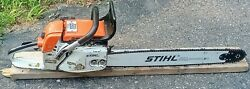 Stihl 038 Av Super Chainsaw Vintage Collectable Made In Germany