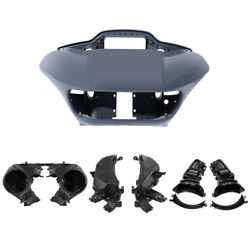 Abs Front Fairing Speaker Glove Box Air Duct Fit For Harley Road Glide 2015-2021