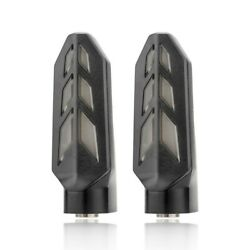 Turning Signal Lights E-bikes Indicator Motorcycle Scooters Smoky Lens