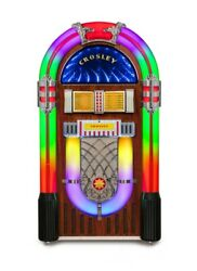 Crosley Digital Led Jukebox With Bluetooth - Color Changing Cd Am/fm